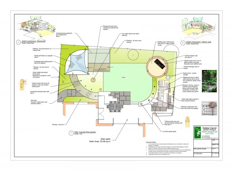 2 Maritime garden design plan