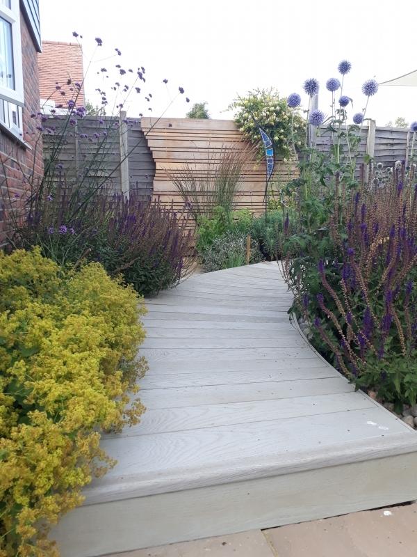 5 Coastal garden boardwalk
