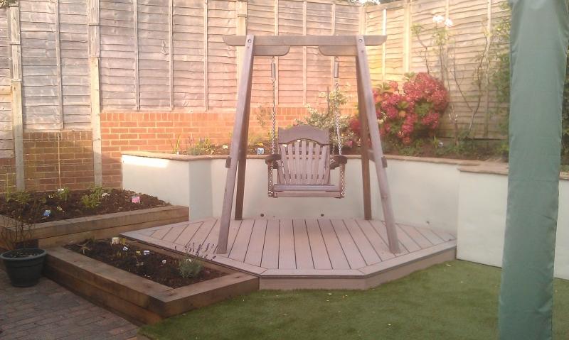 4 Garden for swing seat