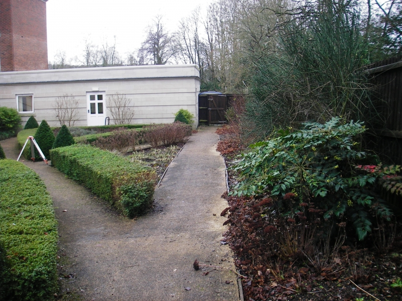 Care home dementia garden Hillier Landscapes before (1)
