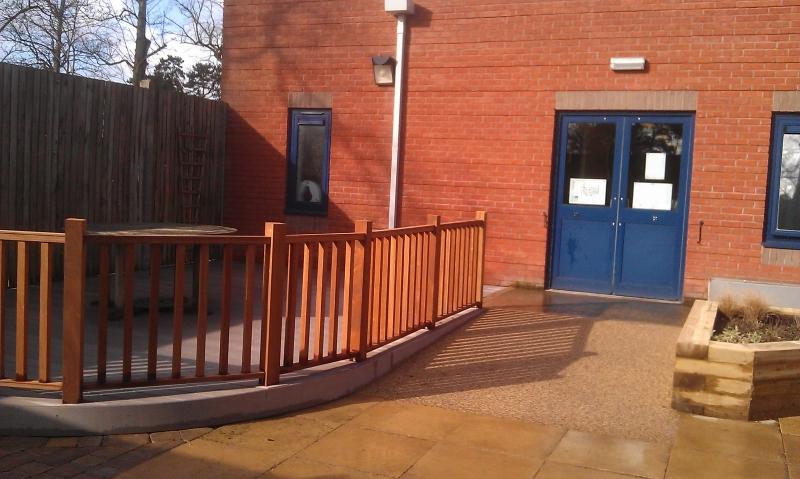 Prospect Park Hospital physiotherapy garden (3)