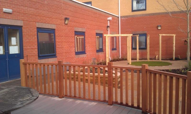 Prospect Park Hospital physiotherapy garden (4)