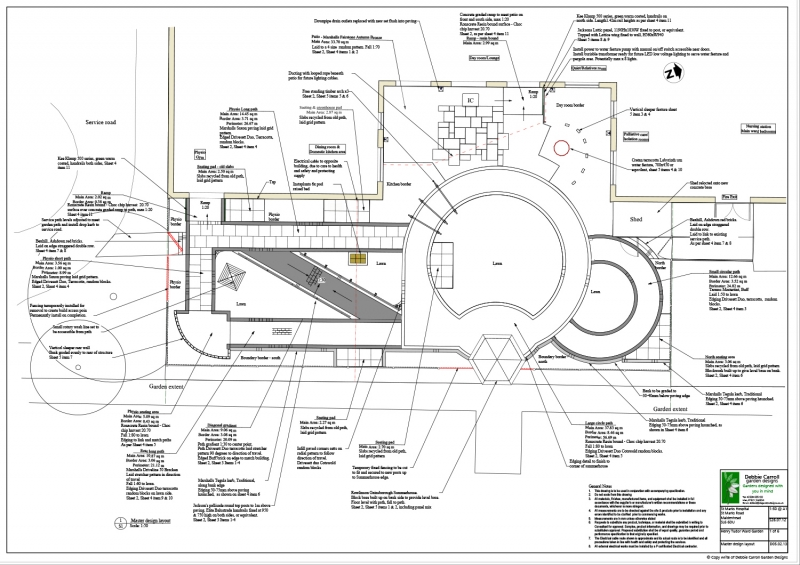 St Marks Hospital garden design layout
