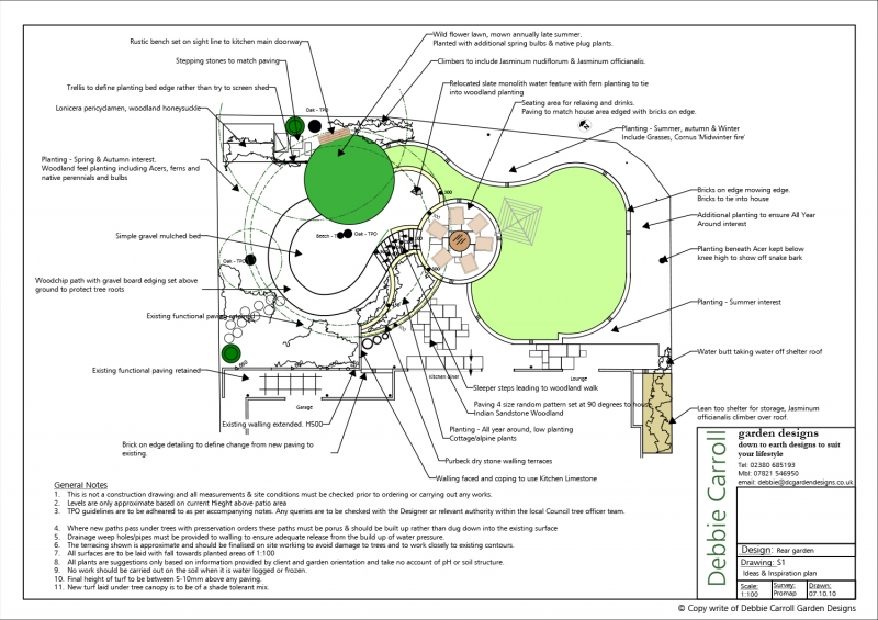 Woodland Garden Design garden design repinned on toby designs seating in a woodland garden Family And Woodland Ideas And Inspiration Garden Plan