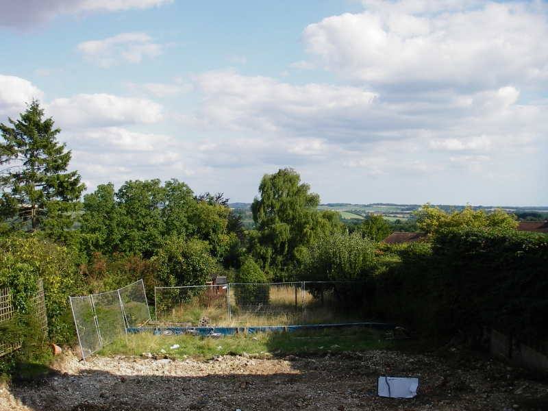 Contemporary sustainable garden before (1)