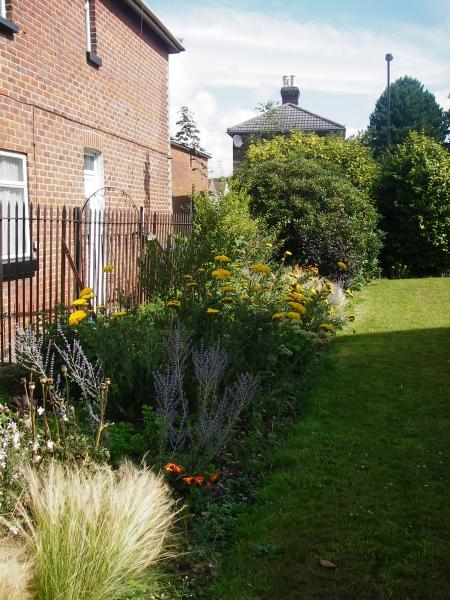 St Marks Church Woolston plant border (4)