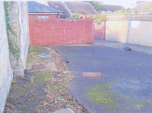 Hythe Drummond place garden before