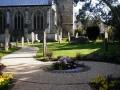 St Peters Church Titchfield memorial garden (1)