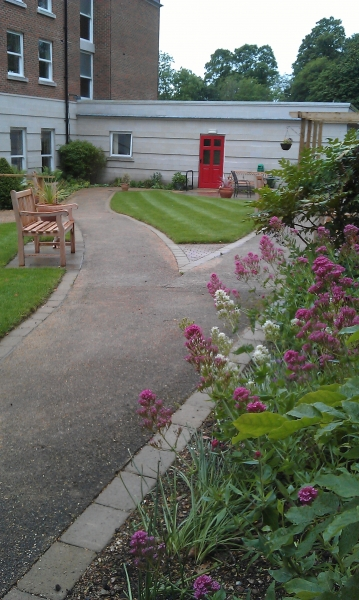Care home dementia garden Hillier Landscapes (3)