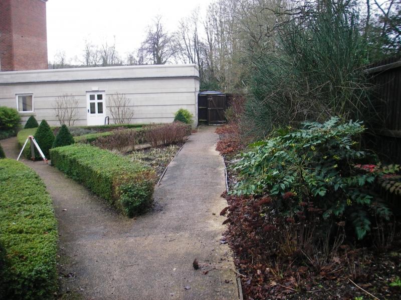 Care home dementia garden Hillier Landscapes before (1)