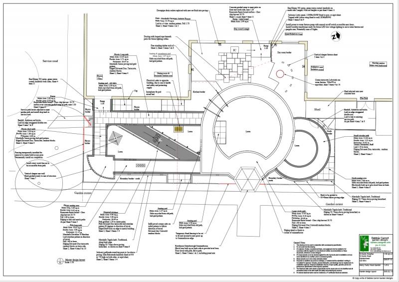 St Marks Hospital garden design layout
