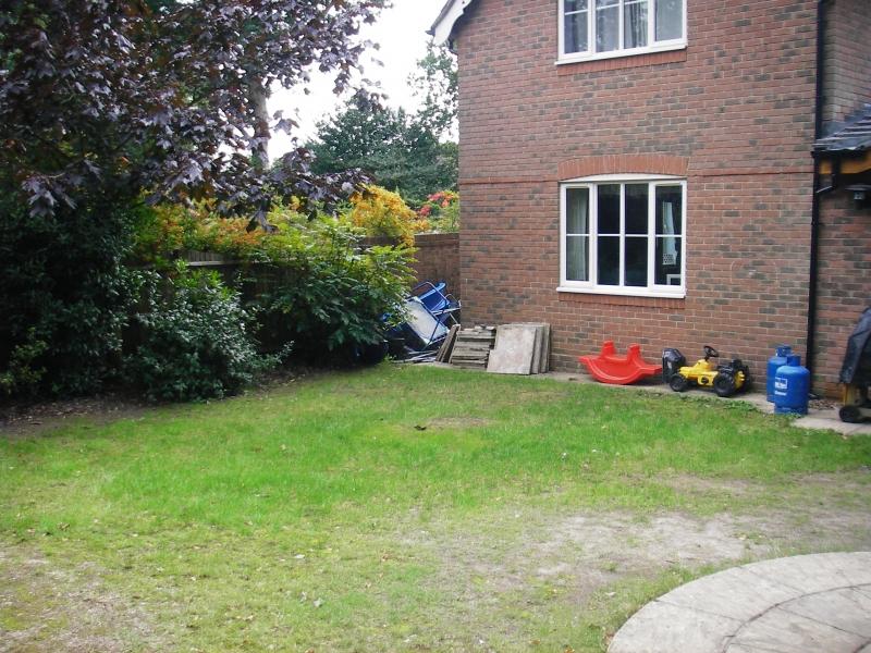 Family garden before (2)